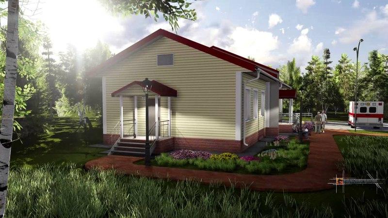 Видео: Строительство первых фельдшерско-акушерских пунктов, объединённых с жильём для врачей