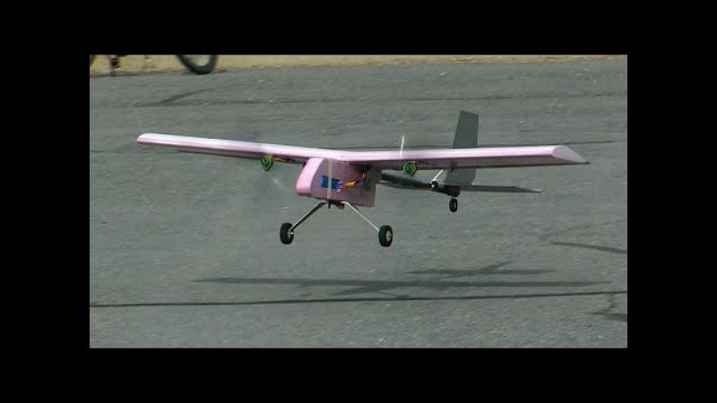 Twin Motor Heavy Lifter Cargo Plane - RCTESTFLIGHT -