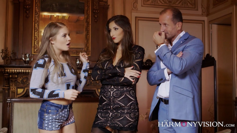 3 Alessandra Jane, Clea Gaultier  My Bad Family  Моя Плохая Семейка 2017, Anal, Threesomes -6513