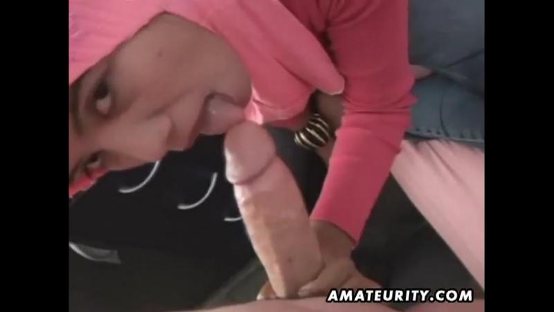 Arab amateurs blowjob and fuck,