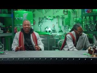 Snoop Dogg и Xzibit рассказали о русских футболистах все, что думают | Очумелые Тусы (реклама Клинского) Рифмы и Панчи