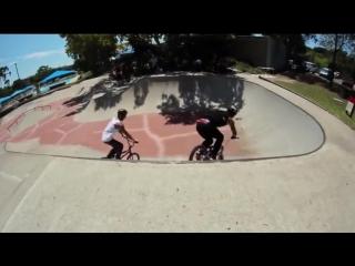 Kyle Baldock and Logan Martin BMX