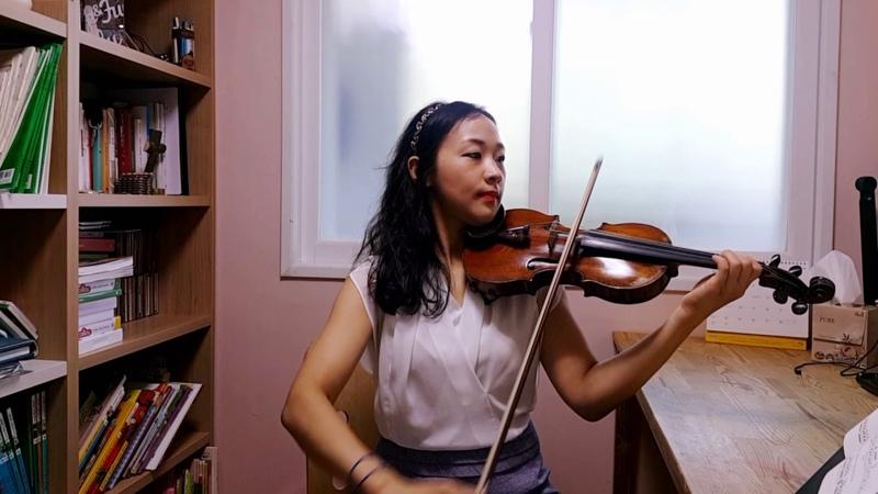 스즈키 2권 륄리 가보트 Suzuki violin 2 Gavotte (J.B.Lully) 바이올린 레슨 강사 김민정 연주 기초 초급