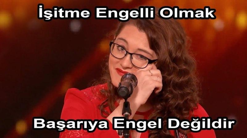 Ağlamadan İzleyin | Sağır Şarkıcının Azmi Herkese Örnek Olmalı| Türkçe Altyazılı Yetenek Sizsiniz