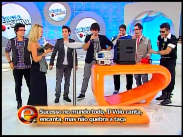 Il Volo no Programa Eliana (20/05/2012) - parte 2