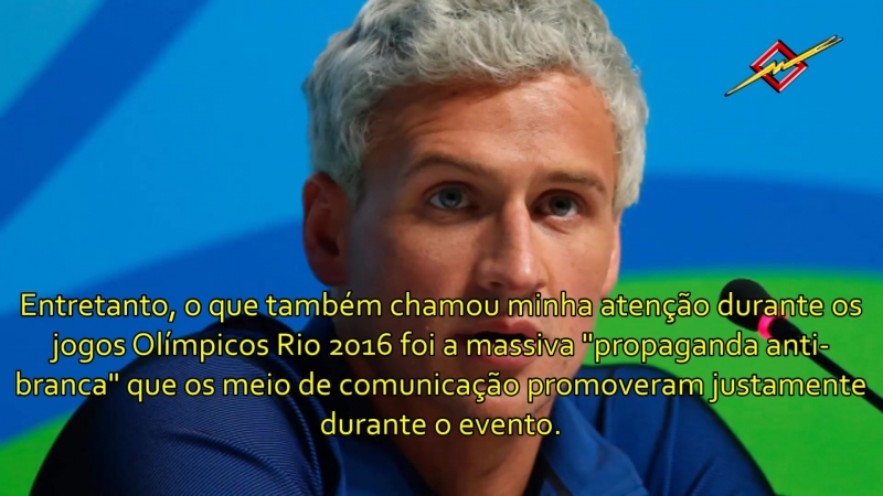PROPAGANDA ANTI-BRANCA | Olimpíadas do Rio 2016