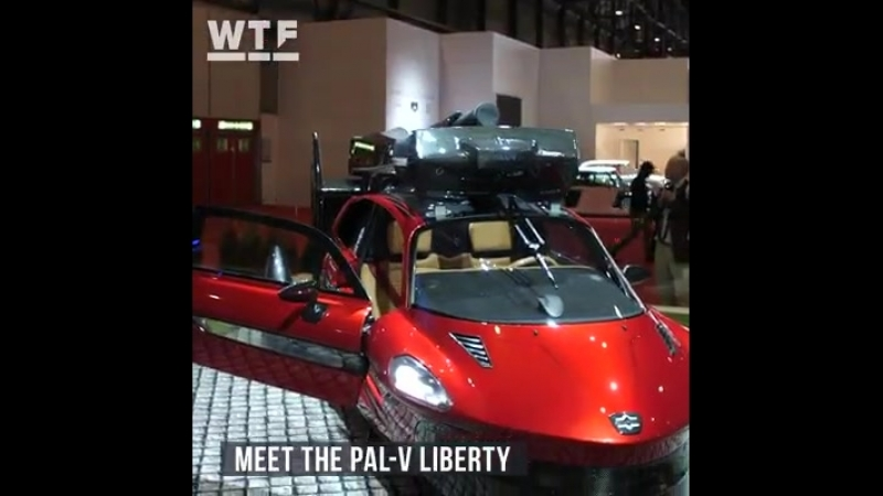 RoadshowAuto. Flying car.