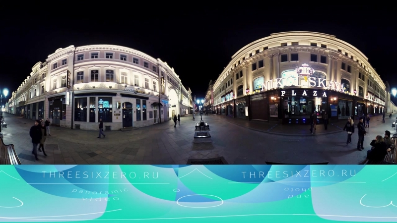 Moscow Blues, spherical video, watch in Chrome