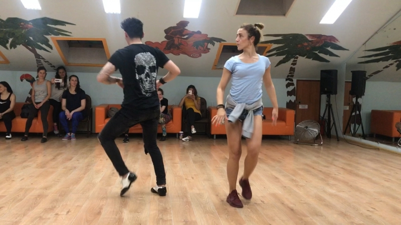 Marta Khanna and Ruben Lee social Dance