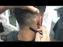 Straight Razor Shave Beard Styling HOW TO Бритье и оформление бороды и затылка