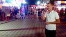 Поет Евгений, караоке Анапа на Набережной. 07.09.2017