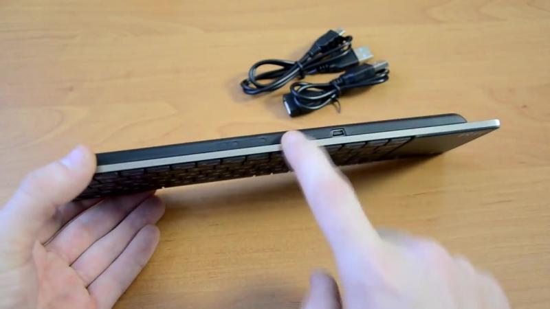 Rii Mini i12 (Беспроводная клавиатура) - Посылка из Китая