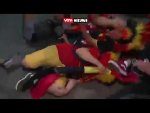 Belgas cantam Aquarela do Brasil e caem no chão e provocam Neymar!
