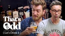 Rhett Link Taste a Beer Made with Human Saliva That's Odd Let's Drink It