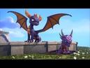 Skylanders Academy Clip - Spyro Trains Cynder