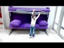Диван - двухъярусная кровать трансформер