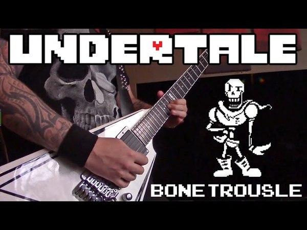 Undertale - Bonetrousle (Metal Cover)    Stefan Norlin