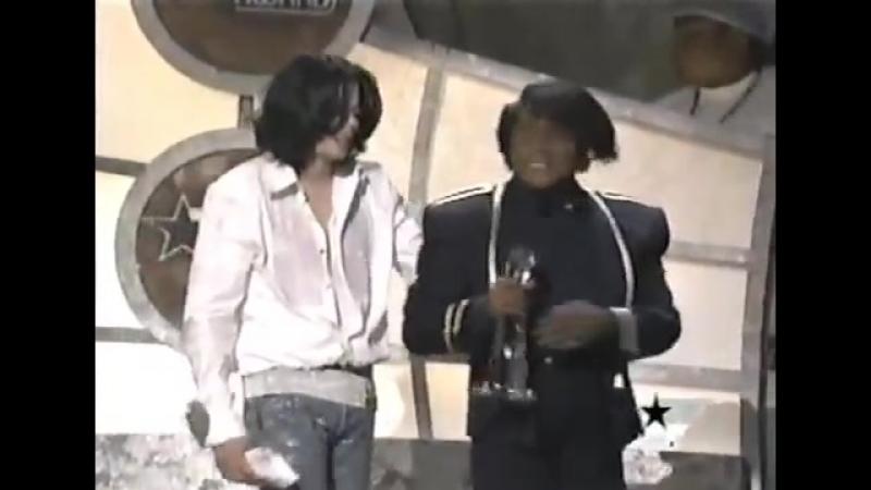 Michael Jackson James Brown BET Awards 2003