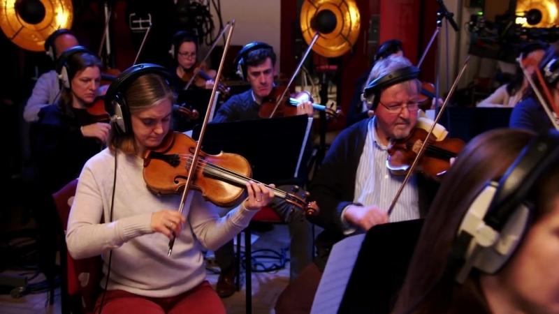 The Royal Philharmonic Orchestra Recording Good Vibrations