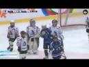 Эпичная драка в детском хоккее