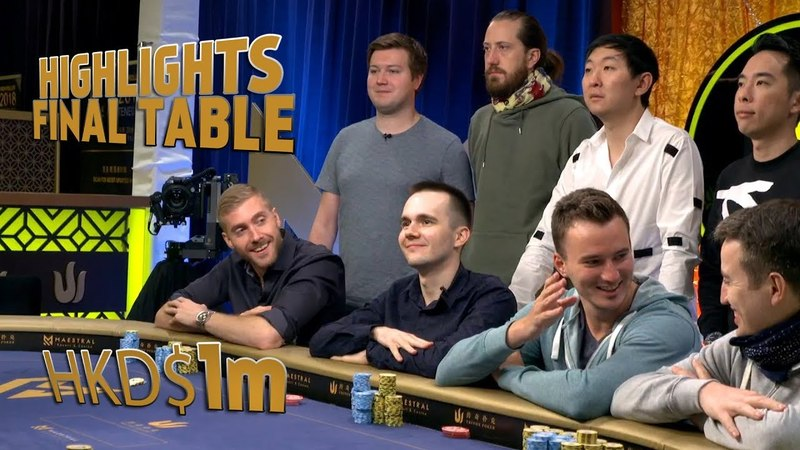 HighLights Final Table $1mHKD fish2013 | O'Dwyer | Sontheimer | Fast