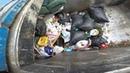 Resi Front Loader Garbage Truck Hopper