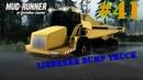 Обзор модов для игри в MudRunner(Liebherr Dump Truck)