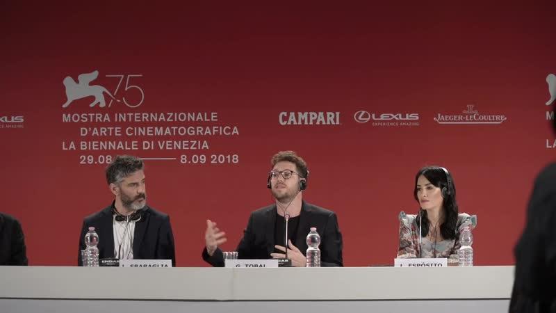 Acusada press conference Lali Espòsito Leonardo Sbaraglia Gonzalo Tobal in Venice The Accused