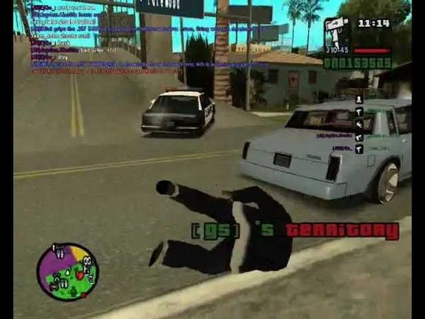Grove street vs Jefferson ballas shootout