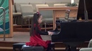 Harmony Zhu age 7 - Bach French Suite No.5 BWV 816, Allemande and Gigue