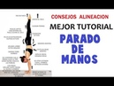Parada de manos EQUILIBRIO FACIL, importante consejo | MEJOR tutorial handstand 2018 | MalovaElena