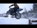 Crazy Russian Winter Stunt