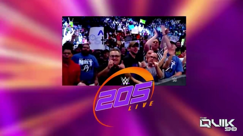 WWE 205 LIVE INTRO THEME (Hail the Crown by CFO$ From Ashes to New)