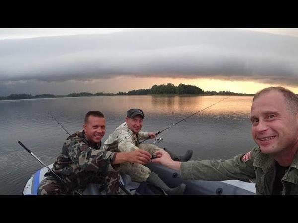 Невероятная Рыбалка в Литве Висагинас