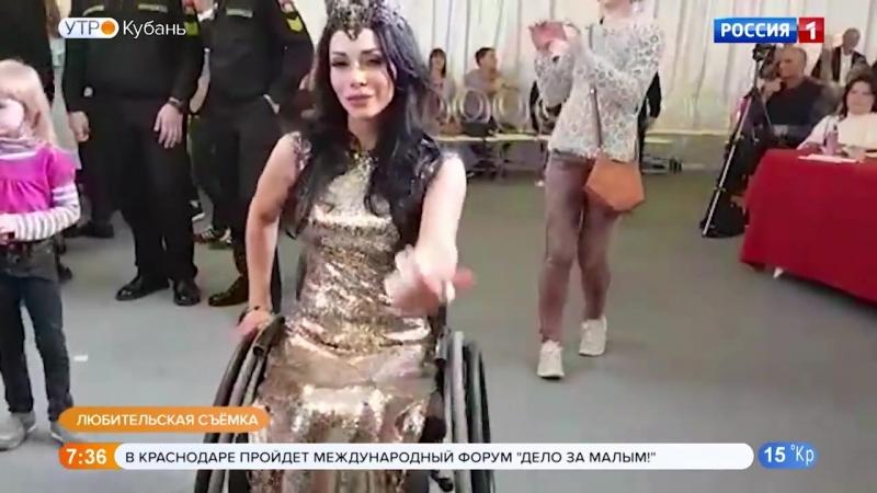 Жительница Краснодара завоевала серебро на конкурсе красоты и таланта «Невская краса — 2018»