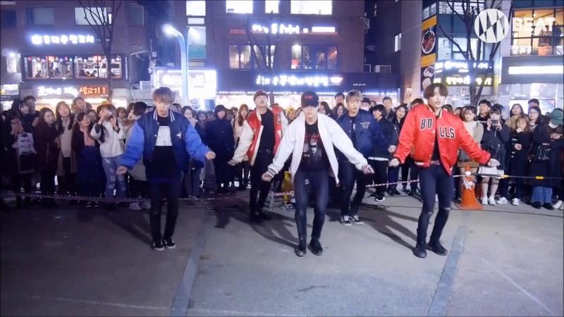 방탄소년단(BTS) - Not Today Dance cover Busking in Hongdae