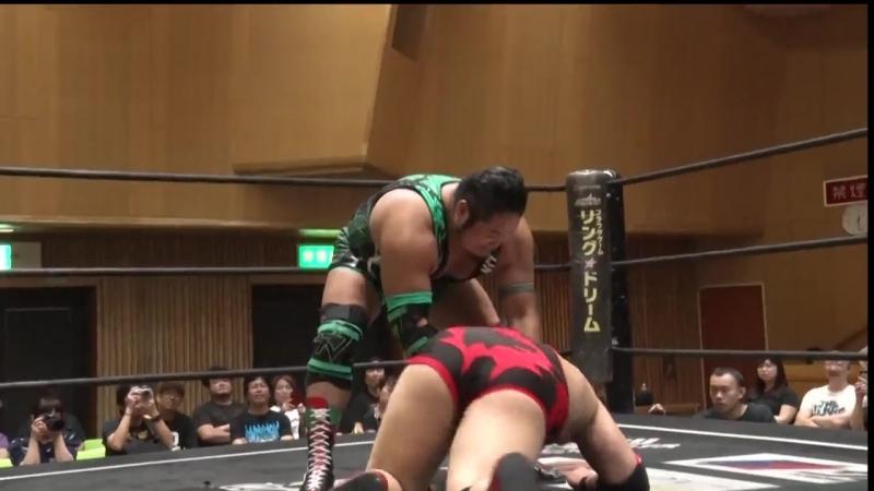 Akira Jo Keisuke Okuda vs Mizuki Watase Shigehiro Irie DDT DNA 46 ~ Osaka First Landing Want to See DNA