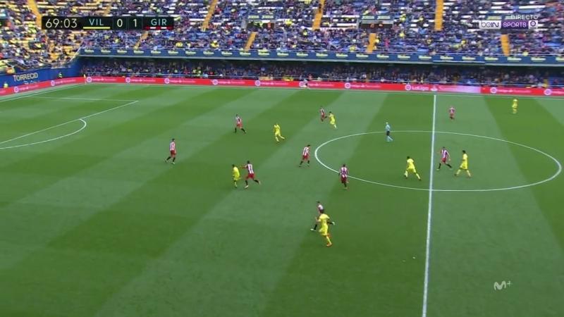 Чемпионат Испании 2017-18 / 27-й тур / Вильярреал – Жирона / 2 тайм [720, HD]
