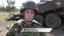 Убийство карателями ВСУ женщин-военнослужащих ДНР - кадры с места уничтожения машины
