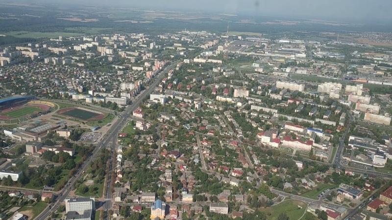 Полёты на вертолёте в Гродно