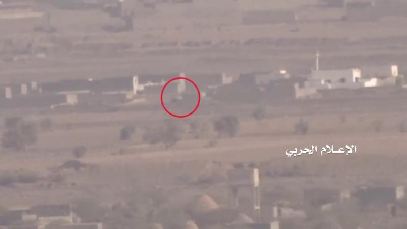 [Yemen and Syria, War and Peace - 2] Йемен. Хуситы из ПТРК уничтожили машину наемников саудитов, вооруженную тяжелым пулеметом