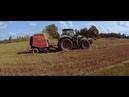 Deutz Fahr 7230 TTV with baler Kuhn VB 2160[Latvia][Real sound/speed][Video by Farmer_Ren]