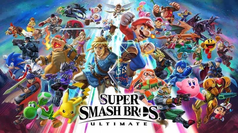 Super Smash Bros. Ultimate — Все в сборе! (Nintendo Switch)
