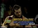 The British Bulldog vs Louie Spicolli