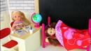 КОГДА ПОДРУГА СПИТ Мультик Барби Школа Играем с Куклами Игрушки для девочек