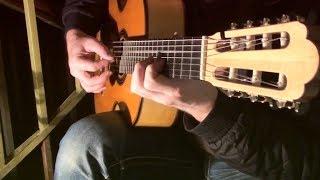 Тонкая рябина. Семиструнная гитара