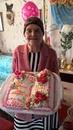 Любимой бабушке 90 лет. Пoжелаем здoровья. Всю войну прорабoтала токарем…