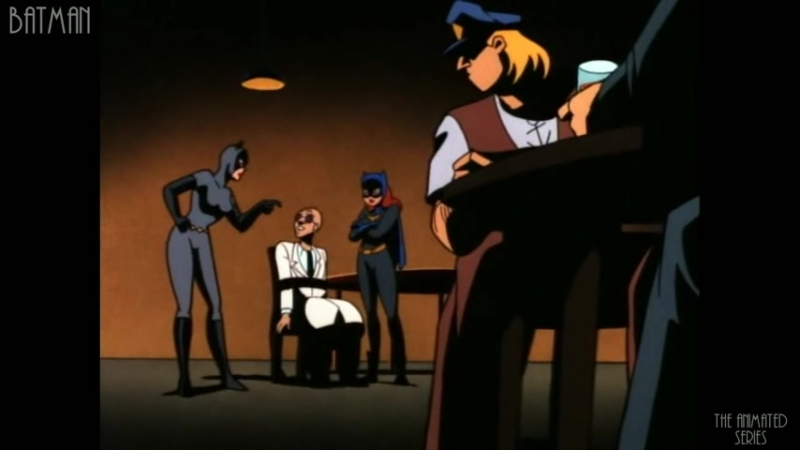 Бэтмен 2 20 85 Бэтгёрл возвращается Batgirl Returns Batman The Animated Series