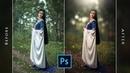 Outdoor Photoshop Tutorial | Blur Background