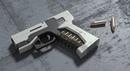 GiTS Pistol Concept Rendering Process